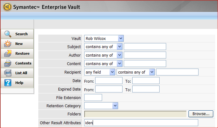how to add enterprise vault to outlook 2010